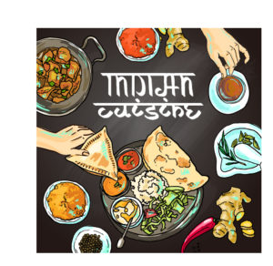 Hand-drawn-Indian-food-elements-vector-04
